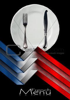 French Restaurant Menu Design