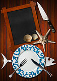 Seafood Menu Background
