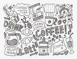 doodle coffee