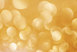 Abstract golden christmas background.