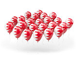 Balloons with flag of bahrain