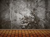 Concrete wall interior