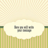 Vintage background with sunbeams