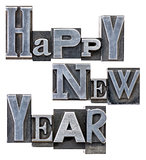 Happy New Year typography