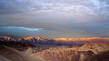 Sunrise Badlands Amargosa Mountain Range Death Valley Zabriske P