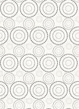 Vector seamless pattern.   Repeating abstract background with circles.