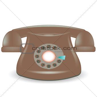 old dark phone