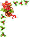 Holly berry Cristmas border