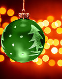 Green Christmastime decoration
