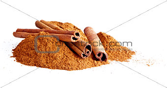 Cinnamon sticks, ground cinnamon