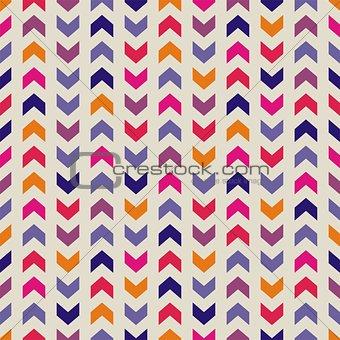 Tile vector zig zag pattern