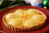 Gourmet pear tart