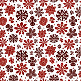 Seamless texture of the painted colors on a white background.