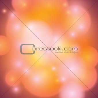 Abstract Soft Bokeh Background Illustration