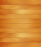 Realistic Wooden Board Grain Background Illustration