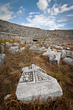 Ruins at Perga in Turkey