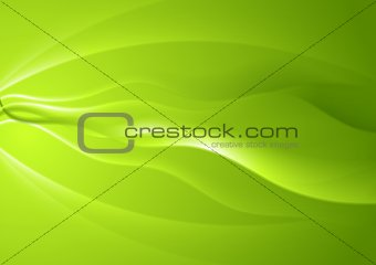 Abstract vibrant wavy background