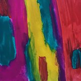Colorful watercolor abstraction art