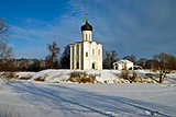 Church of the Intercession on the Nerl, Russia.