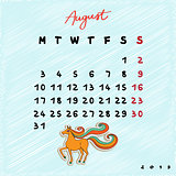 2015 horses august