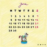 2015 horses june