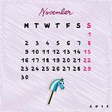2015 horses november