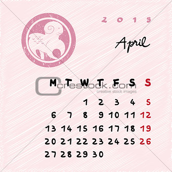april 2015 zodiac