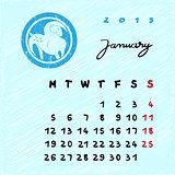 january 2015 zodiac