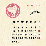 june 2015 zodiac