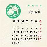 march 2015 zodiac