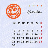 november 2015 zodiac