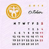 october 2015 zodiac