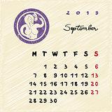 september 2015 zodiac