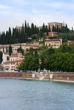 Castle San pietro, Verona, Italy