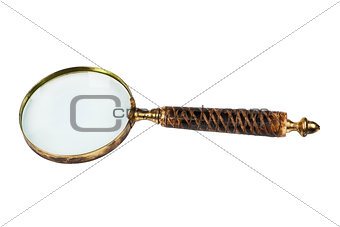 Old anitique magnifier glass.