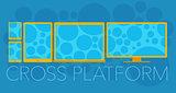 Vector concept of cross platform