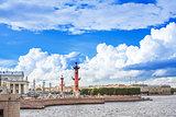 Saint-Petersburg, Vasilevsky Island .