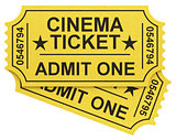 the cinema tickets