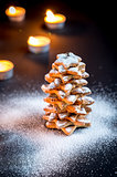 Homemade sweet Christmas tree