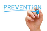 Prevention Blue Marker