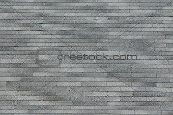 Gray shingle background texture.