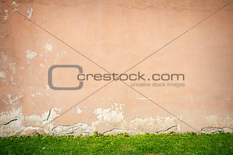 Aged wall