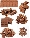 Milk chocolate collection