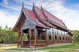 Chapel of Thai temple