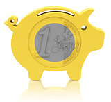 the euro piggy bank