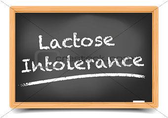 Blackboard Lactose Intolerance
