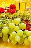 grapes, champagne and gifts