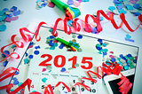2015 new years office party