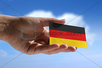 Small german flag
