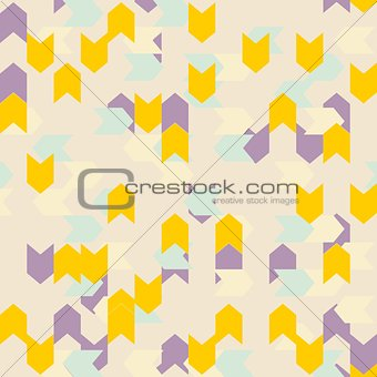 Tile vector zig zag abstract pattern